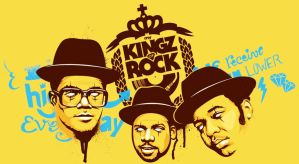 my KINGZ -of- ROCK - RUN DMC by 5-tab