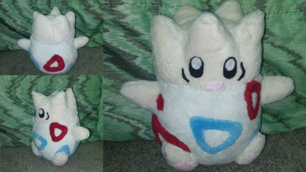 Togepi Pokemon Plush by Misswd