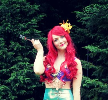 Ariel Cosplay! by KatintheAttic