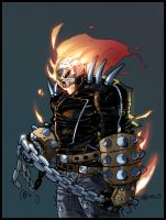 a big thanx from ghostrider by CRISTIAN-SANTOS