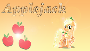 Wallpaper #4: Applejack by InfiniteWarlock