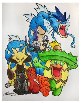 SonicFanatic's Team by Inoki-the-fox