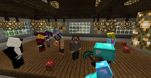 Server Party: Who's Here so Far? by SayomiWolf