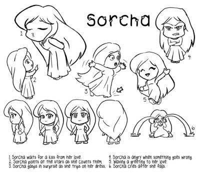 Sorcha Chibi by SweetJeannie