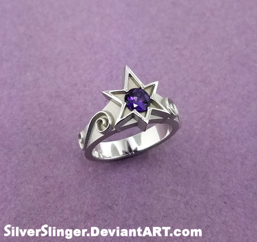 Princess Twilight Engagement Ring by SilverSlinger