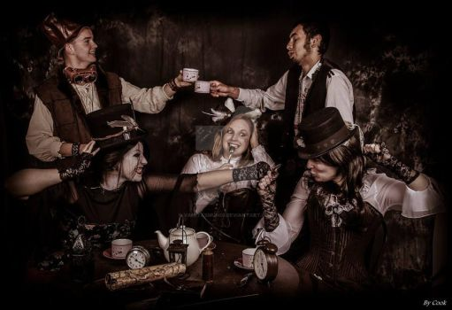 Tea Time Steampunk two by VanitasMundi