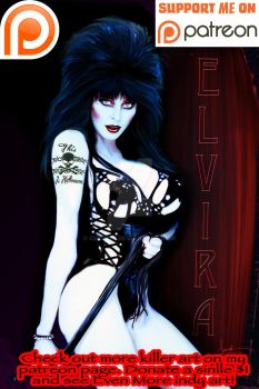 Elvira: Mistress of The Dark by Geoiv75