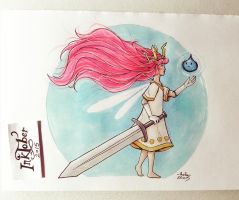 Child of Light by FairyMela