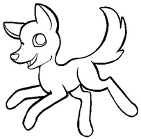 Free to use -- Dog Base MS PAINT FRIENDLY by Adopt-a-Cute