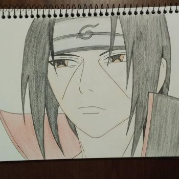 Itachi Uchiha from Naruto by EJArt93
