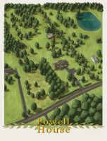 Powell House by SirInkman