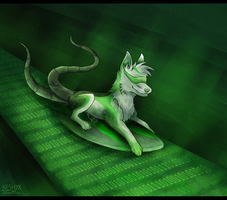 Chillin On The Internet by Keshyx