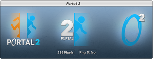 Portal 2 - Icon Pack - LIGHT by Crussong