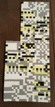Missingno. Perler by DuctileCreations