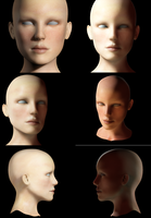 Head lighting by truckless