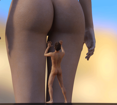 Let the Booty Hit the Floor - Animation by Flagg3D