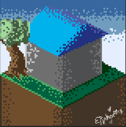 Pixel art (I guess, I tried) by MyLittleJewMonster