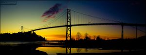 Lion's Gate Bridge, Vancouver by BMC-Photography