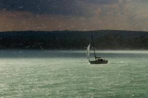 In a storm by Anettphoto