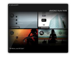 dMONO Style XMB for PSP by delirum