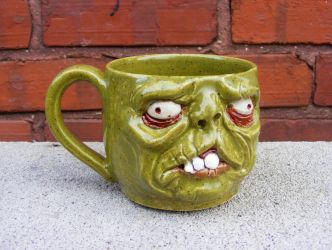 Zombie Mug by paintpixelprint