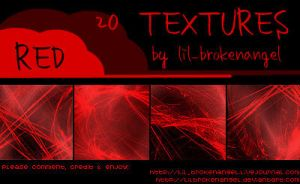 Textures - Red by lilbrokenangel
