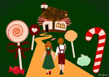 Tell a tale! project - Hansel and Gretel by ThisOneOfMarvels