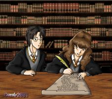 Library by gwendy85
