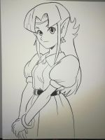 Zelda A Link To The Past by otakoma14