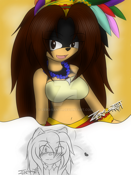 .:Gender Bender: Nicte the Aztec hedgehog:. by Zero-sanTH