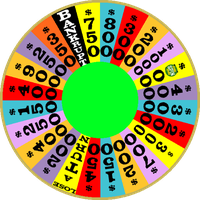 1989a Round 1 Nighttime Wheel with Free Spin by mrentertainment