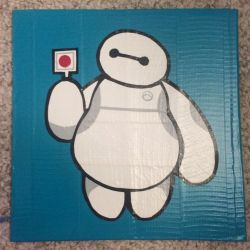 Baymax (duct tape) by TheDucttapeBassist