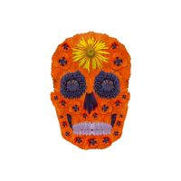 Flower Skull 1 by AgustinGoba