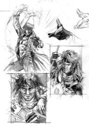 Gambit roughs by felipemassafera