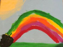 At the End of the Rainbow, There are Skittles by Chiracy