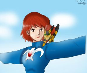 Nausicaa by MonkeyDDante