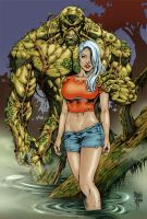 Swamp Thing - Colour only by MirrorwoodComics