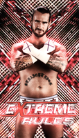 Extreme Rules Simple Poster by TeamBringIt