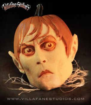 Johnny Depp Barnabas Pumpkin by TrevorGrove