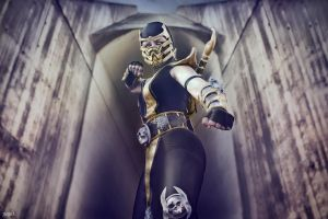 Mortal Kombat Scorpion by JMJ83