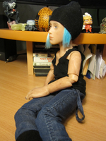 Chloe Price bjd doll #2 by lizathehedgehog