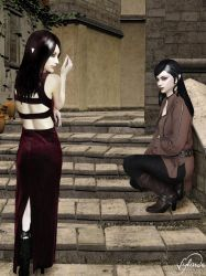 Raven and Shadow by Sylinde