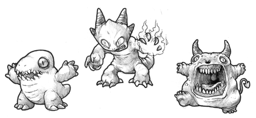 July T9 - Creatures from the Hell's Fire by GTK666