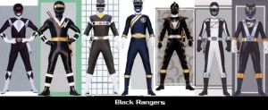 Black Rangers by TommyOliver5