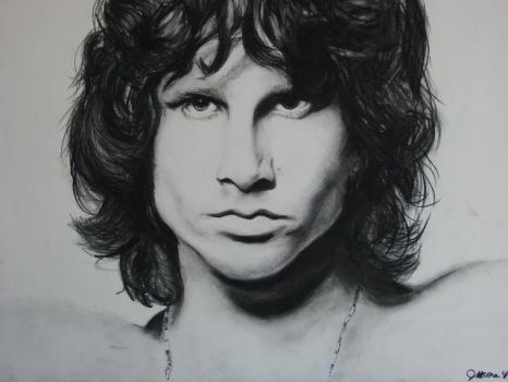 Jim Morrison by TheNymphInYellow