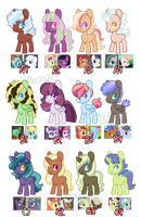 [POINTS ADOPT] Random MLP Ships (ONE LEFT) by Soulnik-Adopts