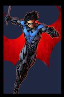 NightWing Blue by Pask