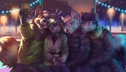 Winter Holidays by 2078