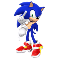 SA2OP's 25th anniversary pose in 3D by Nibroc-Rock