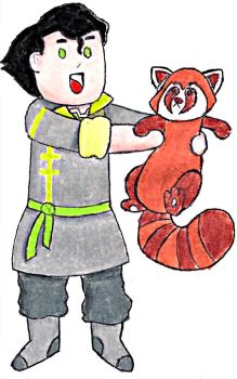 Bolin and Pabu colored by puffley115